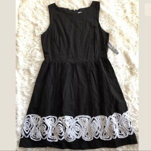 NWT New York & Co. Black & White Dress